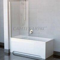 Шторка для ванн PVS1-80 сатин+транспарент, 79840U00Z1 RAVAK
