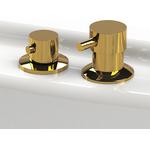 """Смеситель для раковины """"Бриз"""" (gold), RADOMIR"""