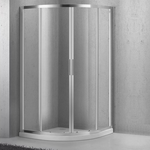 Душевой уголок BelBagno Sela SELA-R-2-90-Ch-Cr рифленое стекло