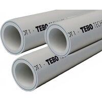 Труба армированная, д 20 PN25, TR-TB серый