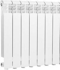 Радиатор алюминиевый Global ISEO 500, 7 секций