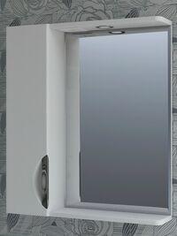Зеркало Jika-600, левое, со спотом, Vigo