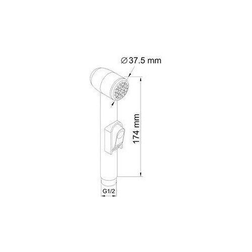 Гигиенический душ WasserKRAFT A043