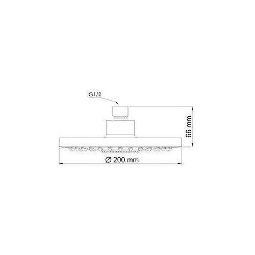 Верхний душ WasserKRAFT A029