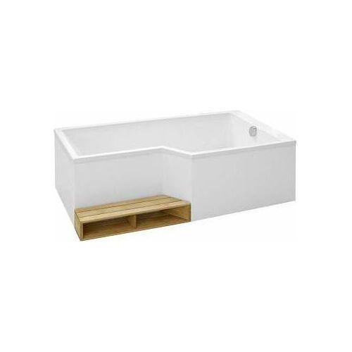 акриловая ванна Jacob Delafon Bain Douche Neo E6d000r 00 R 160x90