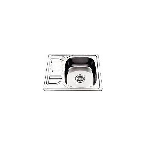 Кухонная мойка Ledeme l65848-r (58х48х18)+ сифон лайн 0.8, Ledeme