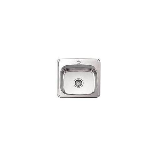 Кухонная мойка Ledeme l94848 (48х48х18) + сифон полир. 0.8мм,  Ledeme