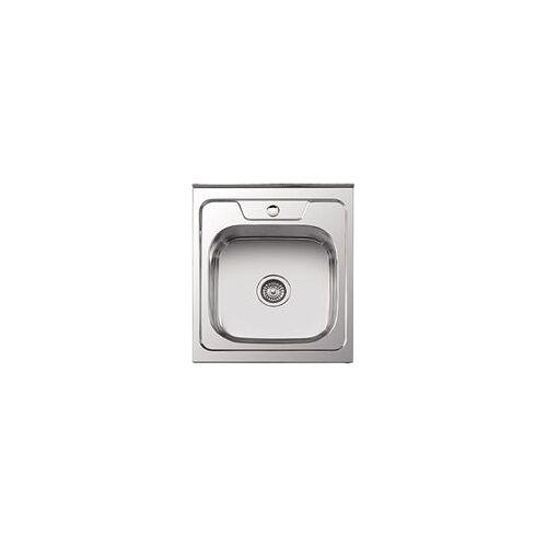 Кухонная мойка Ledeme l95060 (50х60)+ сифон полир.0.8мм, Ledeme