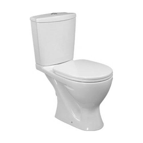 """Унитаз-компакт """"Океан-джуниор"""", горизонтальный выпуск, сиденье и Крышка с микролифтом, белый, w909001-6, Ideal Standard"""